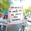 """La escuela Valentín Bianchi marcho por """"Un San Rafael sin violencia"""""""