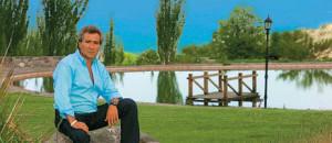 Daniel Vila, en su estancia de San Isidro