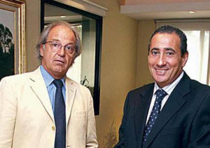 Julio Chretien y Alfredo Vila (h)
