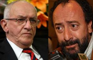 Ricardo Puga y Roberto Picco, operadores de Vila-Manzano