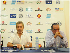 Daniel Vila y Nicolás Becerra
