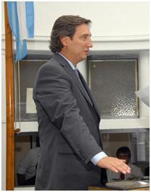 Emir Félix Intendente de San Rafael, testaferro de Vila-Manzano