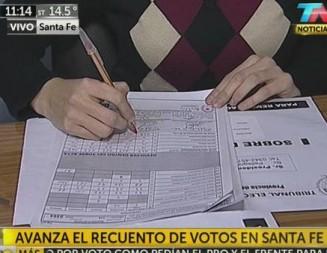 Pelea voto a voto en Santa Fe: aún no contaron las mesas de Rosario