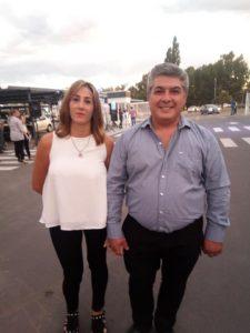 Empresario Roberto Sánchez, junto a su esposa Liliana lópez Martinez