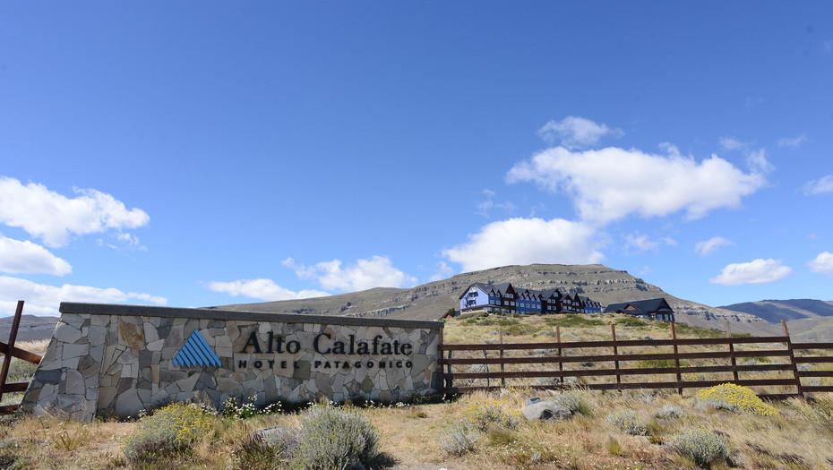El hotel Alto Calafate propiedad de la familia Kirchner en El Calafate – Foto: OPI Santa Cruz/Francisco Muñoz