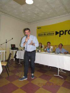 Dr. Omar De Marchi, Pte. PRO Mendoza