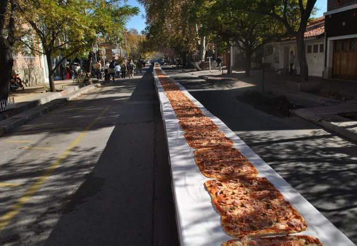 Una pizza solidaria de 200 metros se realizará en San Rafael