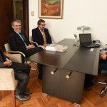 El Gobernador recibió al presidente de la AMIA