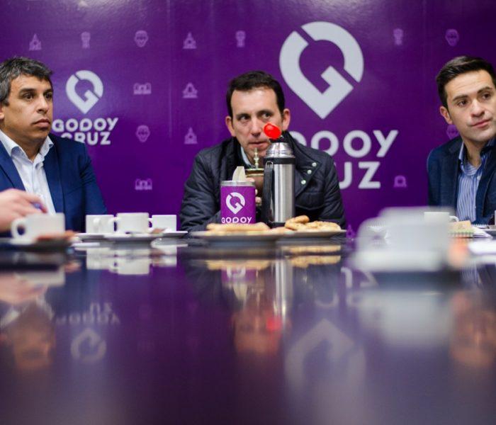 Senadores del sur se reunieron con el intendente de Godoy Cruz