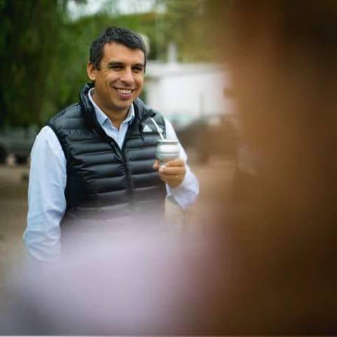 Lucas Quesada, nuevamente en camino por la intendencia de San Rafael